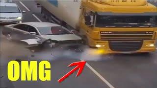 CRAZY ROAD FAILS & BAD DRIVERS   DRIVING FAILS & IDIOT DRIVERS COMPILATION PART 6