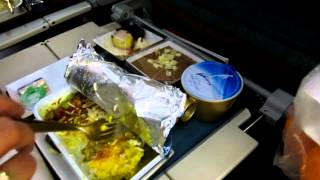OMAN AIR Economy Class Food Airbus A330