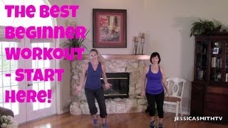The Best Beginner Workout: How to Start Exercising Safely! | 30-Minute Full Length Home Routine by jessicasmithtv