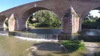 preview picture of video 'Ponte vecchio Cesena video con drone'