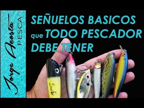 Señuelos que TODO PESCADOR DEBE TENER!!! - Tipos de Señuelos y como usarlos para pesca en el mar.