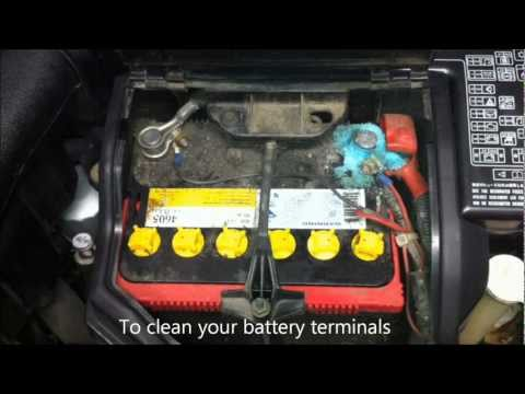 Clean Corroded Car Battery Terminals With Coke