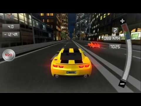 Vídeo do Drag Racing 3D