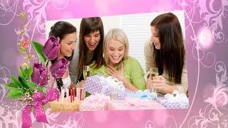 Поздравление с 8 марта  За женщин тост!