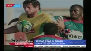 Kenya Simba's 15's team beat Brazil 19 -18 in Brazil