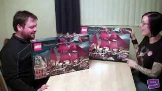 Toy Brief 62 : Queen Anne's Revenge LEGO Pirate Ship Build Set 4195