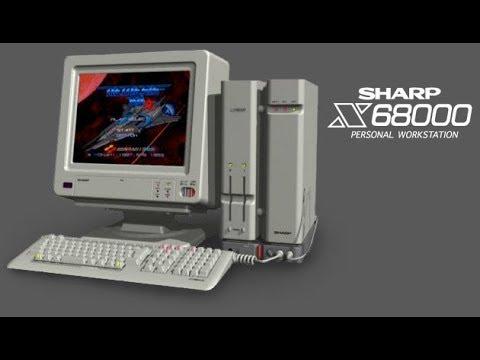 Street Fighter II Champion Edition - Sharp X68000 - Ken Longplay