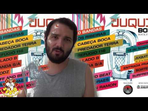 Léo Vocalista da Banda Os Ribeiras convida a galera para curtir o Maior evento de Rock de Juquitiba ....The Juqui Box
