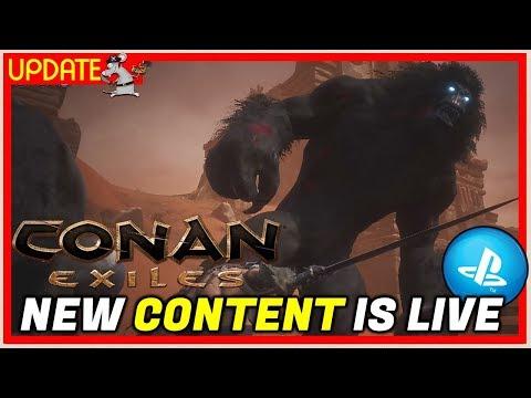 NEW - CONAN EXILES - UPDATE! PC, PS4 AND XBOX - смотреть онлайн на