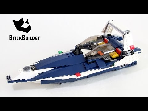 Vidéo LEGO Creator 31039 : L'avion bleu
