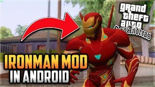 iron man mod pack for gta san andreas android - मुफ्त