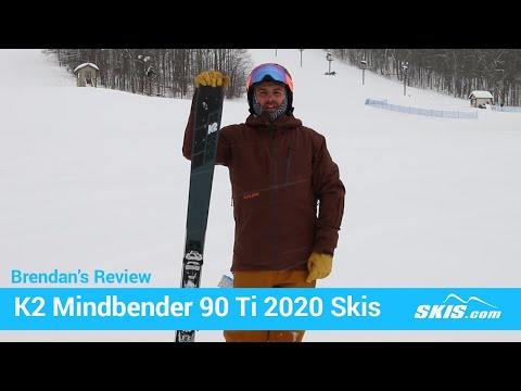 Video: K2 Mindbender 90 TI Skis 2020 3 50