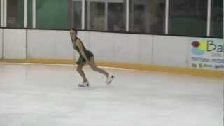 preview picture of video 'Silvia Gandini - Terza Prova Free - Zanica (BG) 16.02.2013'