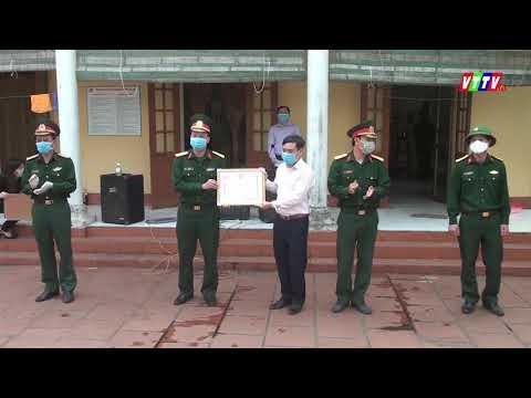 BCĐ huyện trao giấy chứng nhận hoàn thành thời gian cách ly y tế tập trung cho 4 công dân còn lại