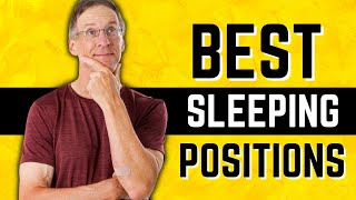 Best Sleeping Positions After Total Knee OR Hip Replacement Surgery