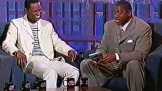 "Brian Mcknight ""The Only One For Me"" Magic Johnson Show"