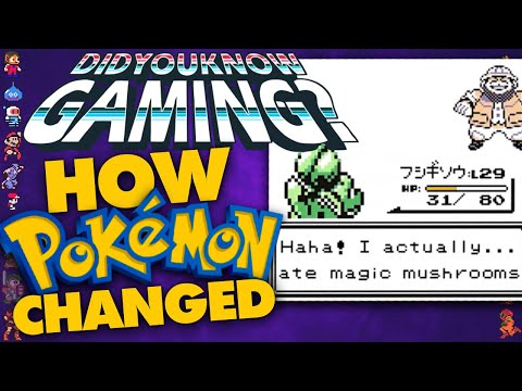 How Pokemon Was Changed Around The World – Did You Know Gaming? Ft. Dr. Lava