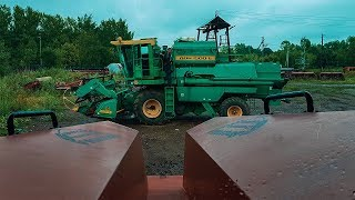 Мелкий ремонт трактора К-744