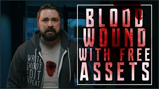 Bloody Wound with Free Assets | VFX