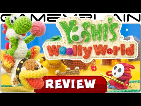 Yoshi's Woolly World - Video Review - YouTube video thumbnail