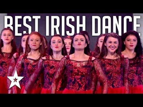 להקת רקדניות בריקוד אירי מדהים