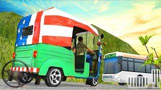 Mountain Auto Tuk Tuk driver - Offroad Rickshaw - Cargo Driving Rickshaw - Best Android Gameplay