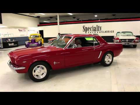 Video of '65 Mustang - F38O