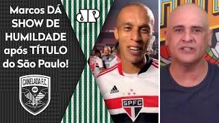 Veja o que o Marcos falou após o São Paulo ser campeão sobre o Palmeiras