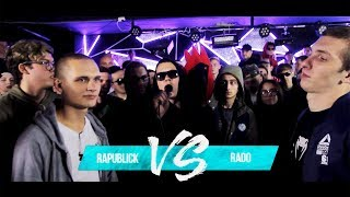 RAPUBLICK vs RADO - GRIMETIME BATTLE FROM SIBERIA |БАТТЛ РЭП 140 BPM |GRIME БАТЛ 140 БПМ |ГРАЙМ ТАЙМ