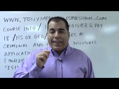 Florida Real Estate License Application and Course