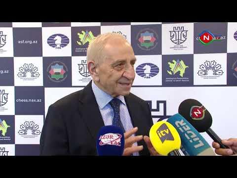 Naxçıvan şəhərində şahmat üzrə Azərbaycan çempionatının açılış mərasimi keçirilib - video 1