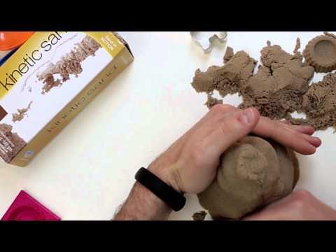 Sabbia per bambini per giocare: non sporca ed è sicura