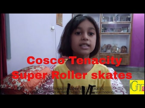 Cosco Tenacity Super Roller Skates unboxing review | Cosco super roller skates hands on review | 2