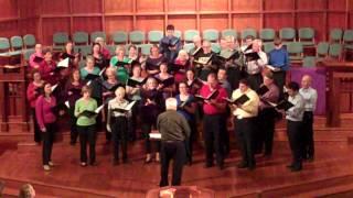 Order My Steps - Glenn Burleigh - UPC Choir