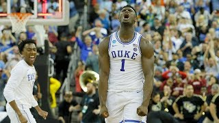 Zion Williamson: NCAA tournament highlights
