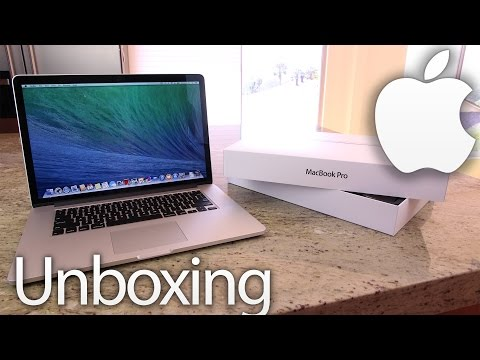 New MacBook Pro Retina - Unboxing Mid 2014: 15 Inch and Review