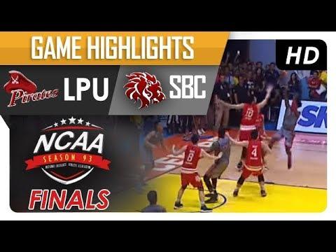 LPU vs. SBC | NCAA 93 | MB | Game Highlights | October 19, 2017