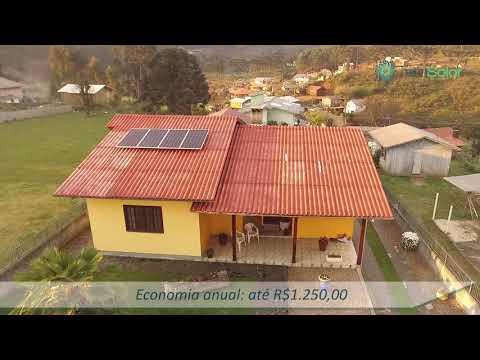 TeraSolar | Energia Solar Fotovoltaica - Sistema 1.28 - Bom Jardim da Serra/SC