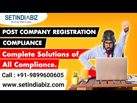Post Company Registration Compliance