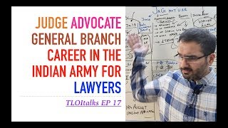TLOItalks Ep 17   Judge Advocate General   Career options after LLB   Lawyer in the Indian Army
