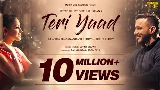 Teri Yaad    Official Song Video    Ustad Rahat Fateh Ali Khan