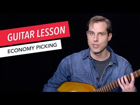 Learn How to Use Economy Picking | Guitar | Lesson | Beginner | Tim Miller | Berklee Online