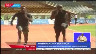 Timu ya Kenya ya wanariadha katika mashindano ya bara Afrika wafanya mazoezi