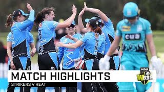 Strikers on fire to beat the Heat | Rebel WBBL|04