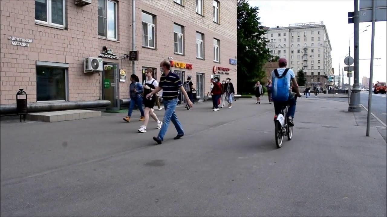 Видео трафика Проспект Мира д.112