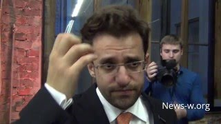Левон Аронян после турнира претендентов по шахматам 29.03.2016