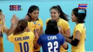 วอลเลย์บอลหญิง ซีเกมส์ 2019 ไทย vs เวียดนาม