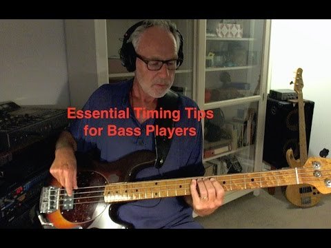 Essential Timing Tips for Bass Players