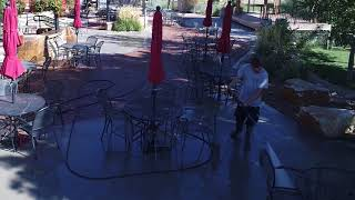Top Gun Pressure Washing Brewery Patio Cleaning