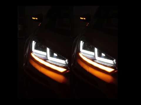 VW Golf VI dynamischer Blinker / dynamic turn signal